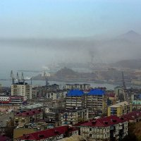 Туман. :: Николай Тишкин