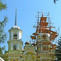 Троицкая церковь в селе Павлино (Троицкое-Кайнарджи) :: Евгений Кочуров