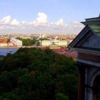 Вид на город с колоннады Исаакиевского собора 22 :: Сергей