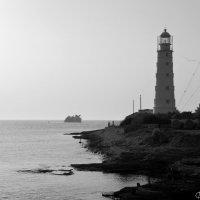 Тарханкутский маяк :: Наталья Каракуца