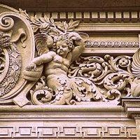 Париж. Фрагмент здания Лувра. :: Владимир Драгунский