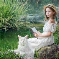 Прогулка у пруда :: Олеся Циганок