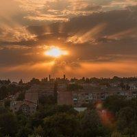 Закат над Антрацитом :: Дина Горбачева