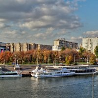 По Москве-реке :: Наталья Лакомова