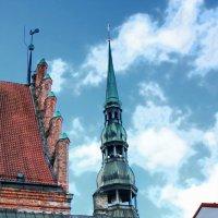 Церковь св. Петра.  Рига :: Liudmila LLF