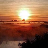 Солнце в тумане! :: Елена (Elena Fly) Хайдукова