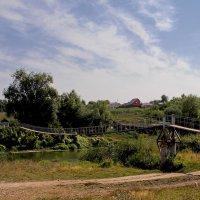Подвесной мостик. Слобода Архангельская. Татарстан :: MILAV V