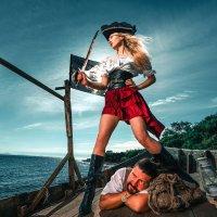Похождения пиратки Аины :: Александр Халаев