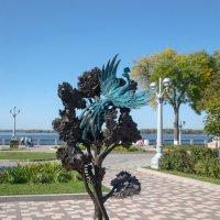Там, где клён шумел, или птица цвета ультрамарин. :: Олег Манаенков
