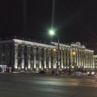 Здание бывшего треста «Тулауголь». Тула. :: Олег Кузовлев