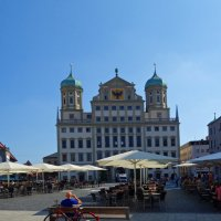 Rathausplatz (Augsburg) :: Galina Dzubina