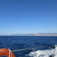 Вид с яхты на море :: Елена Семигина