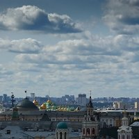 Панорама городских крыш :: san05 -  Александр Савицкий