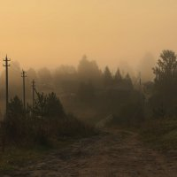 Утро, туман. :: Павел
