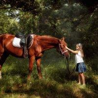 Любовь к лошадям:) :: Анастасия Дробышевская