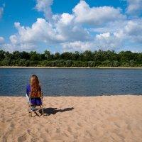 Созерцание реки :: Светлана Гибазова