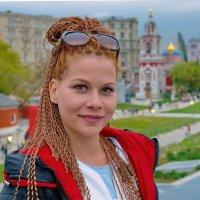 В Зарядье. :: Саша Бабаев