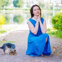 Прогулка в парке :: Олеся Семенова