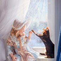 Игры у окна :: Tanya Petrosyan