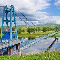 Мост в селе Комсомол :: val-isaew2010 Валерий Исаев