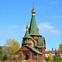 Церковь Всех Святых. Омск :: Mikhail Irtyshskiy