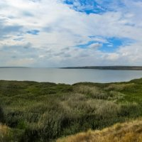 Миусский лиман (панорама) :: Сергей Карачин