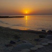 Янтарные закаты Балтики :: Lusi Almaz