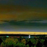 Холодный закат сентября :: ВАЛЕРИЙ