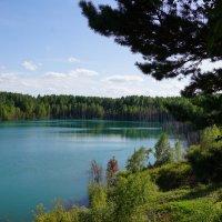Голубое озеро :: Наталия Григорьева