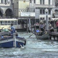 Venezia. Uscita dal canale Cannaregio al Canal Grande. :: Игорь Олегович Кравченко