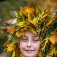 Зеленоглазая осень :: Светлана Мизик