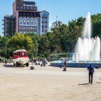 фонтан во Владивостоке. :: Пётр Беркун
