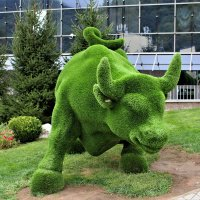 Зелёный город... :: Евгений Яхим