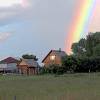Дом, в котором живёт радуга. :: Николай Масляев