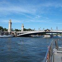 Париж. Прогулка по реке Сене. :: Владимир Драгунский