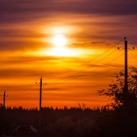 Восход над Самылово :: Валерий Гудков