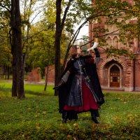 Воительница с боевым рожком :: Алексей Корнеев