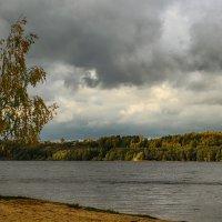 а небо осенью серое с проседью... :: Сергей Бойцов