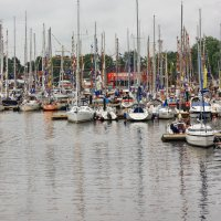 Яхты в гавани. :: Liudmila LLF