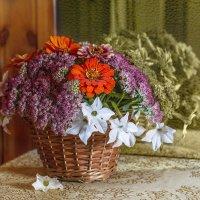 Букет из осенних цветов. :: Елена Струкова