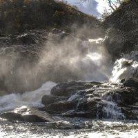 у подножья водопада Титовка :: Георгий