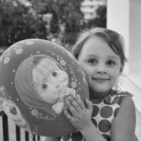Девочка с шариком :: Андрей Майоров