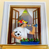 Уникальный дом в Ростове (фрагмент декора) :: Нина Бутко
