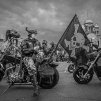 Закрытие байкерского сезона. Владивосток,6 октября 2018 :: Олег Семенов