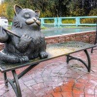 Памятник коту Семену в Мурманске :: Георгий А