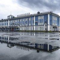 затопили морской вокзал г. Мурманск :: Георгий А