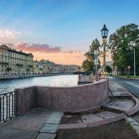Изгиб моста у Фонтанки :: Юлия Батурина