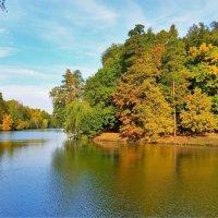 Золотая осень в усадьбе Царицыно :: Константин Анисимов