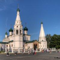 Вид на церковь Ильи Пророка. :: Maxim Semenov