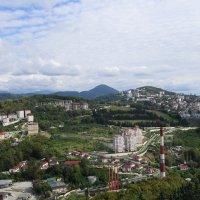 Вид Сочи со смотровой площадки Дендрария :: Маргарита Батырева